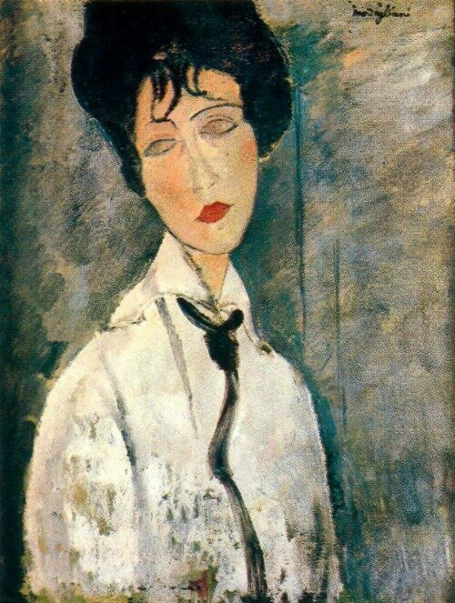 Amedeo modigliani 1917