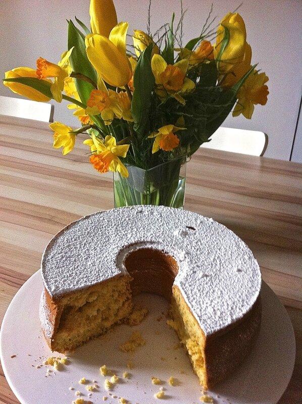 gâteau de Savoie pour une Mamy