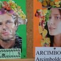 Portraits amusants inspirs d'Arcimboldo