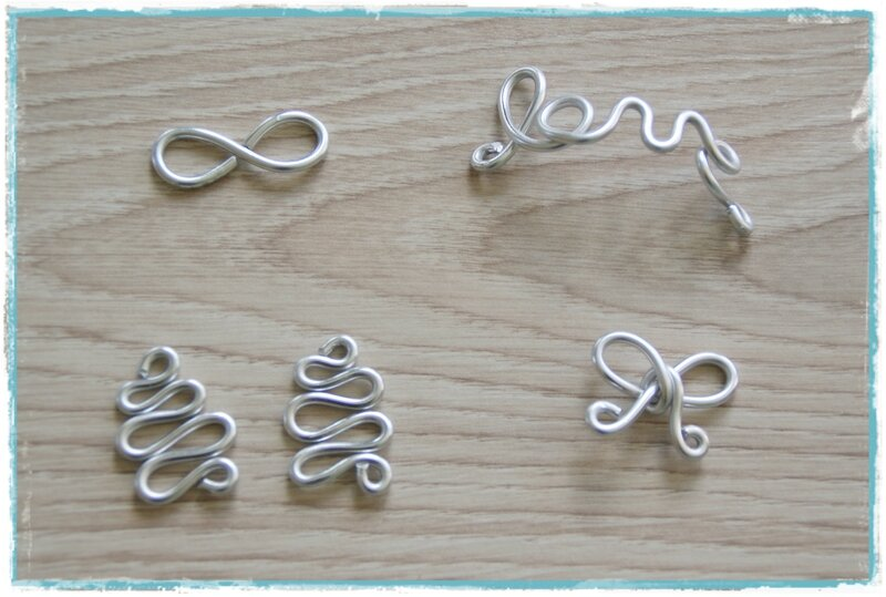 diy faire des bijoux en fil d 39 aluminium les p 39 tites d cos de lolo. Black Bedroom Furniture Sets. Home Design Ideas