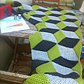 Cal vasarely blanket #10