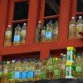 Pour le temple, de l'huile a gogo!