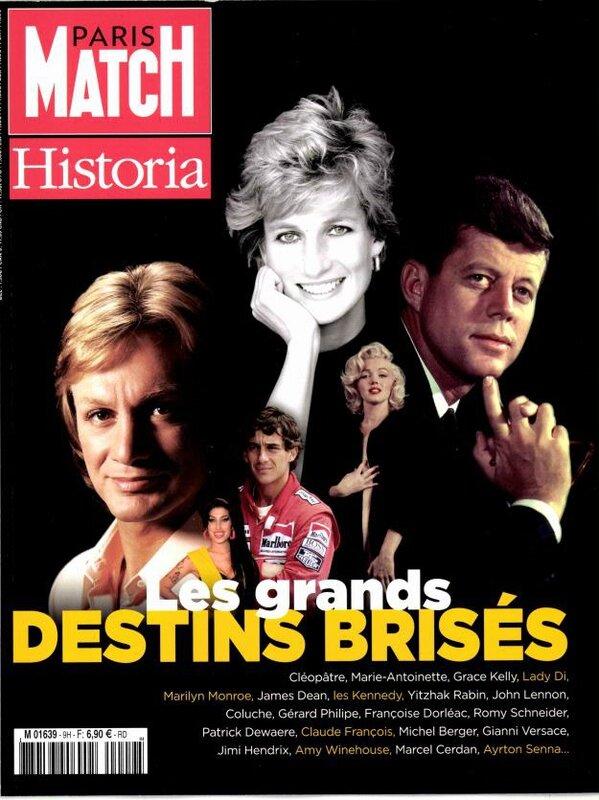Paris Matc Historia (fr) 2015