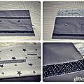 Pochette Glitter & Star