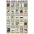 Sea, sun and alm box