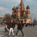Amis à Moscou