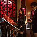 Clary and Magnus City of Bones