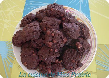 Cookies aux quatre chocolats