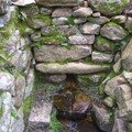 Source aménagée en moyenne montagne , Cagna ...