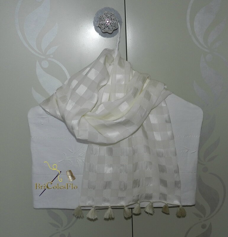 Foulard crèpe de soie