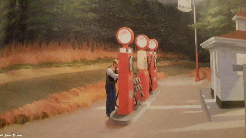 Gas Edward Hopper