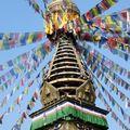 Un Stupa dans la vieille ville