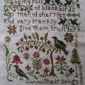 Their Songs By Blackbirds designs