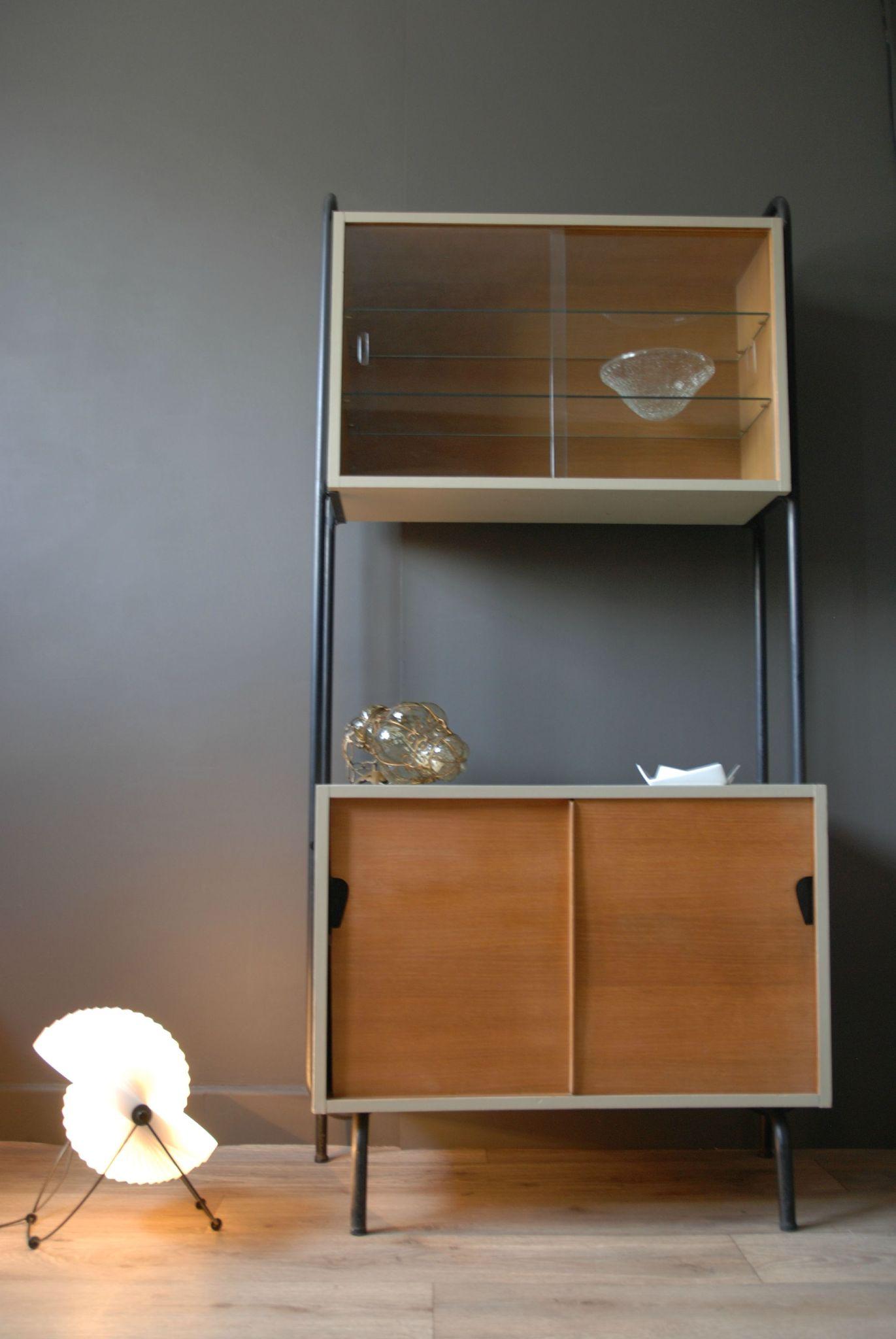 etag re mobilor design jacques hitier vendue atelier vintage. Black Bedroom Furniture Sets. Home Design Ideas