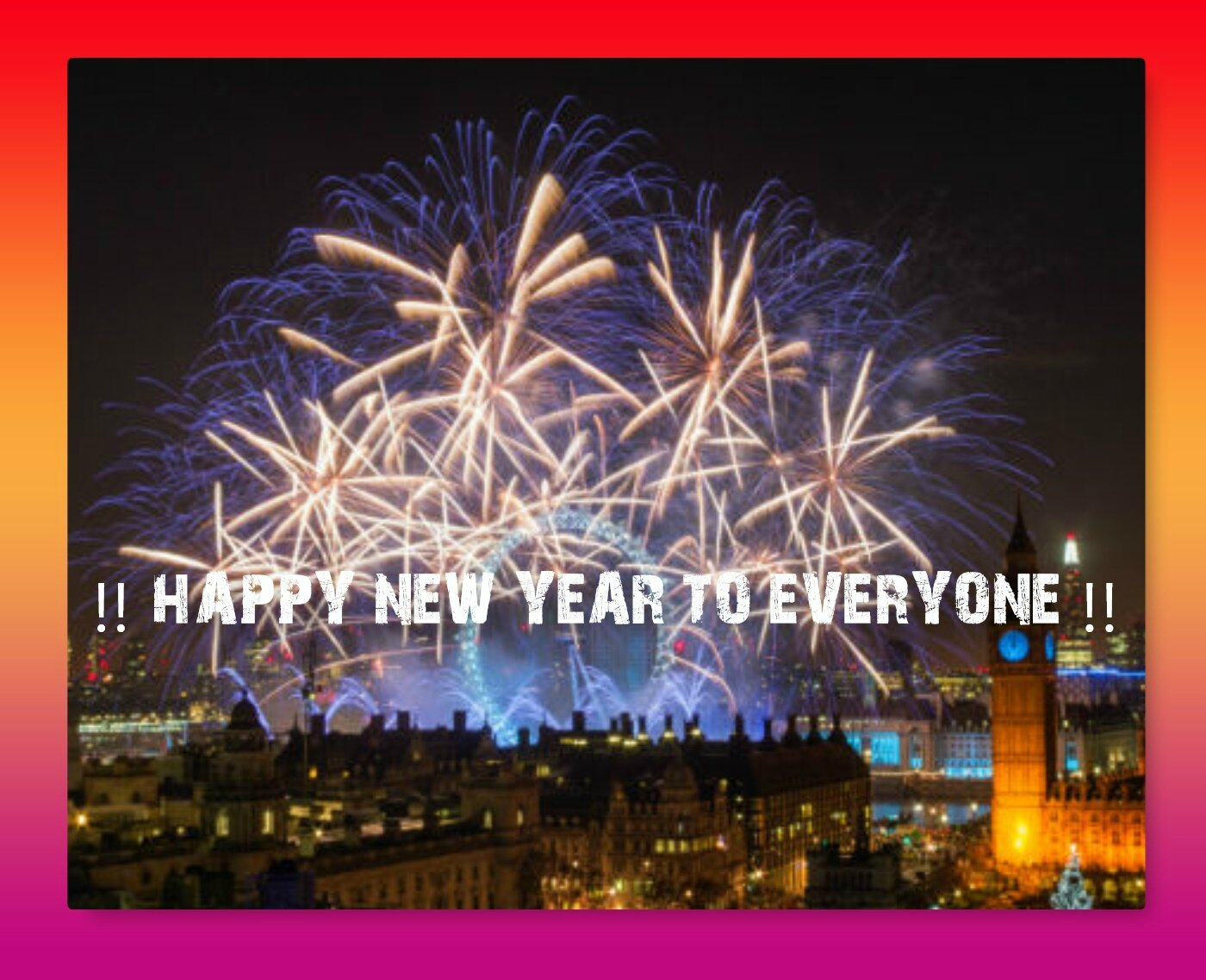 !! HAPPY NEW YEAR !! from belicious-delicious-handmade creations