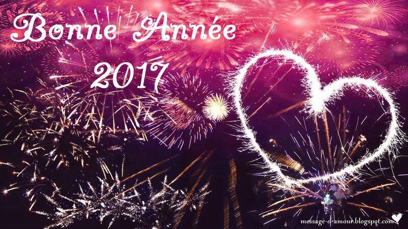 Bonne annee 2017 Romentique