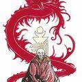 Pierre makyo. le moine et le dragon