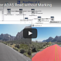 Nexyad adas : new release of the road detection module roadnex tested in overstructured urban traffic