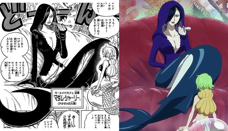 Madame Shirley - One Piece - Eiichiro Oda