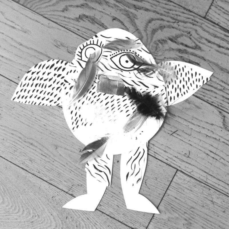 Le monstre d'Edgar (à tête d'oeuf)