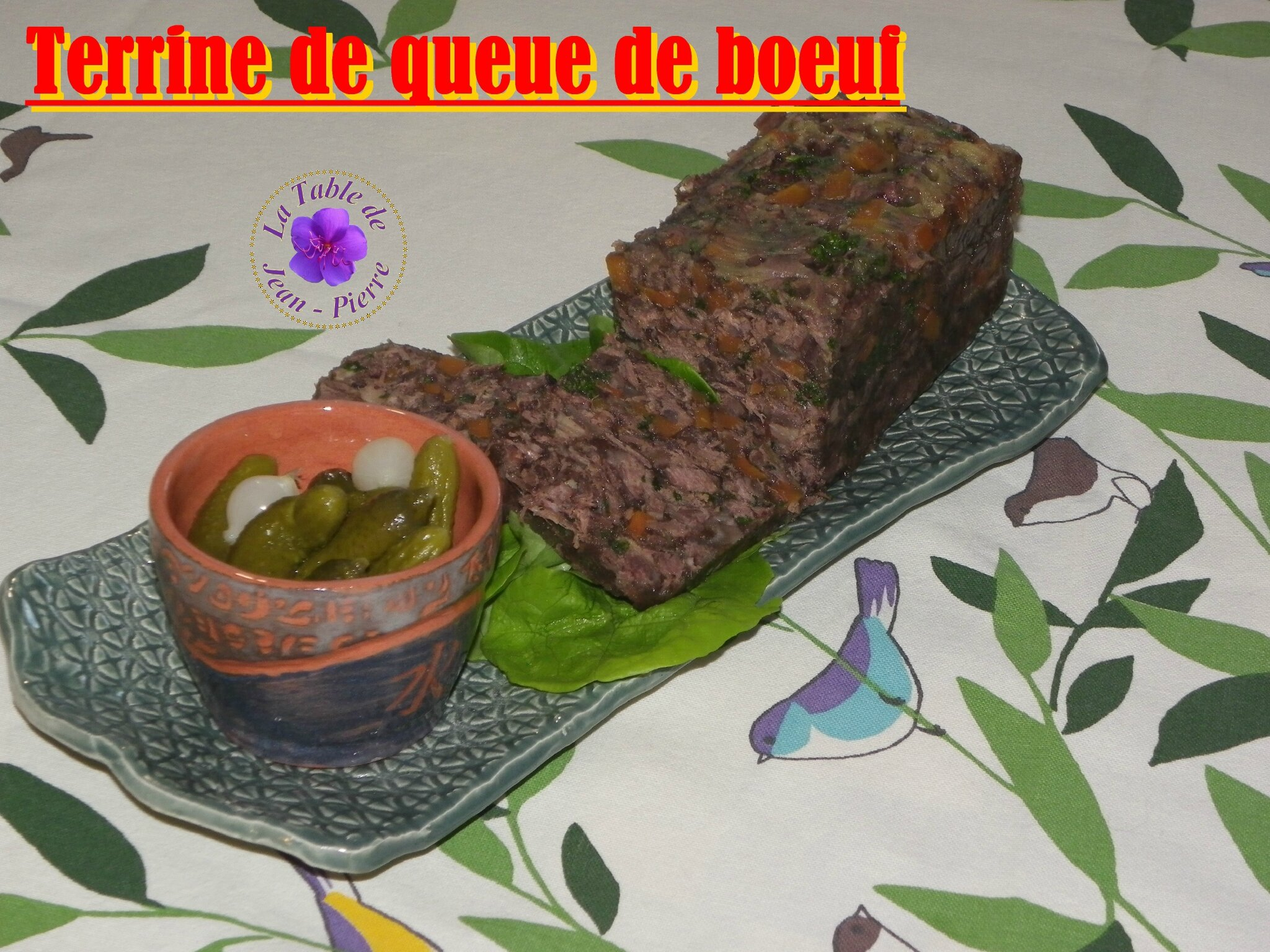 Terrine de queue de bœuf