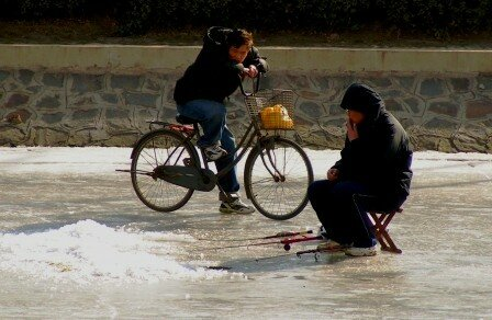 pêche glace
