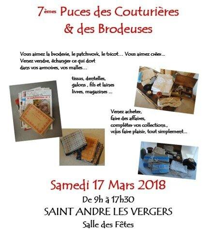 Troyes puces de couturières 2018