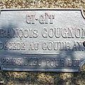 Saint-André-Goule-d'Oie (85) – Tombe de François Cougnon