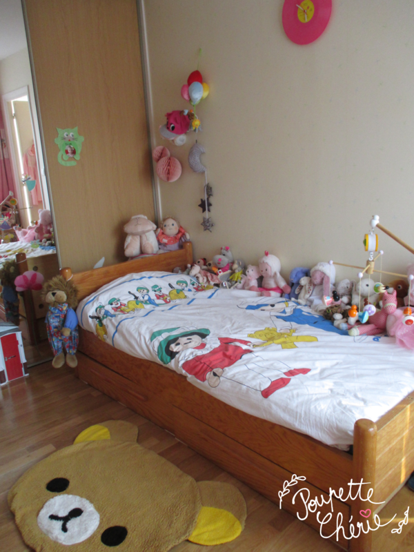 Chambre fille rose kawaii 14