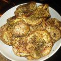 Aubergines grillees