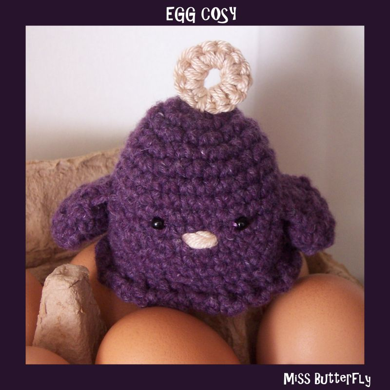 Egg cosy (Modèle Lilly Chouquette)