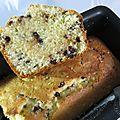 Cake aux pépites de chocolat, lait ribot et citron