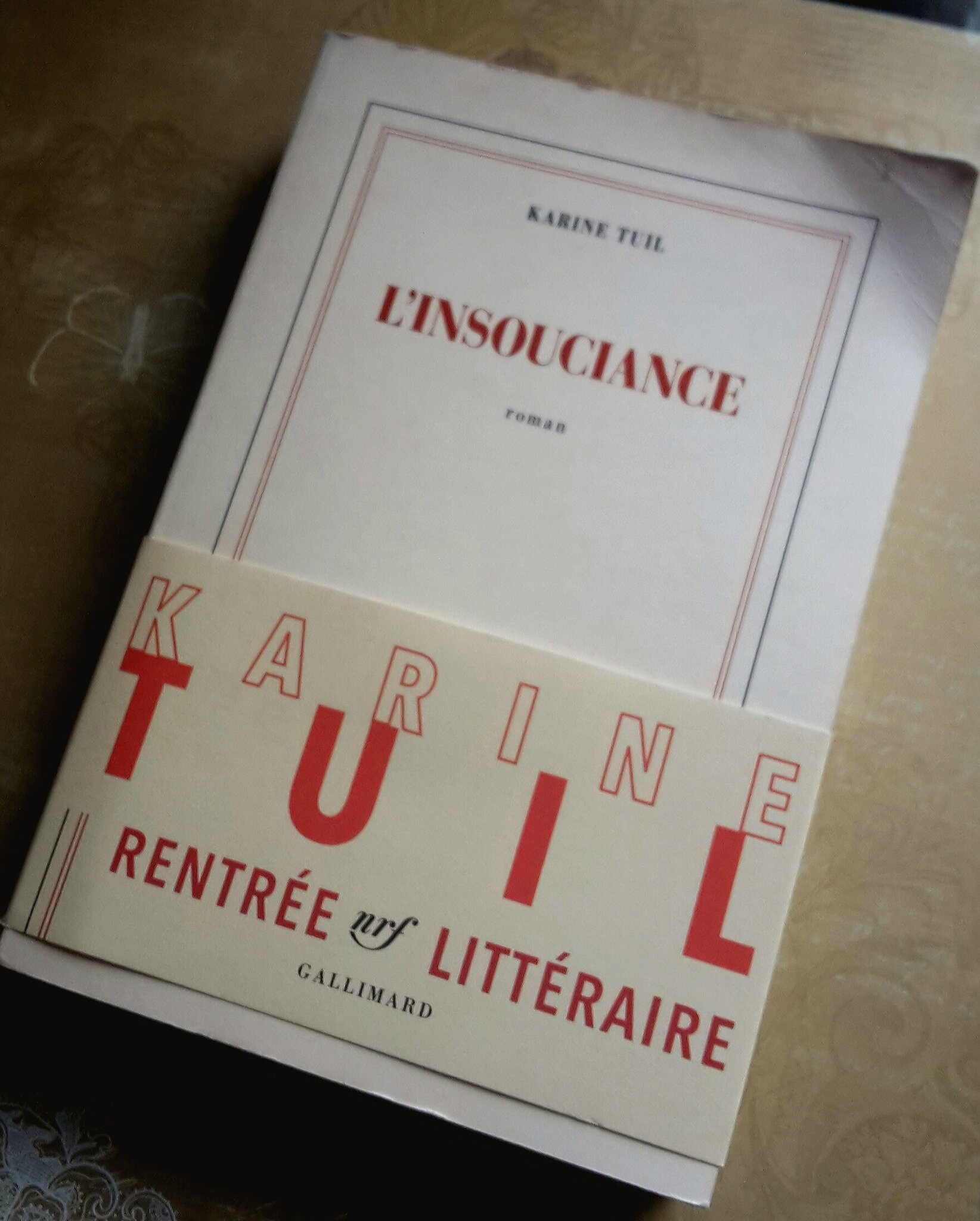 « L'insouciance » de Karine Tuil