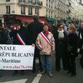 Manif au SENAT LE 19 JANVIER 2010