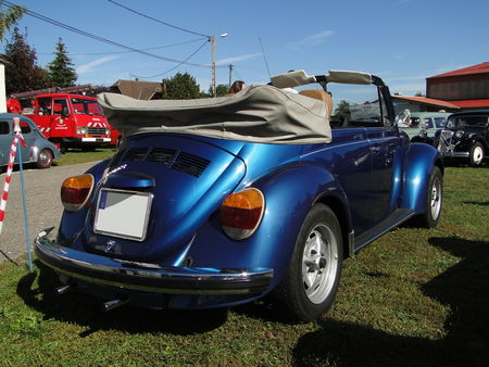 VOLKSWAGEN Coccinelle 1303 Cabriolet 1973 1980 Randonnee des Vendanges de Rustenhart 2010 2
