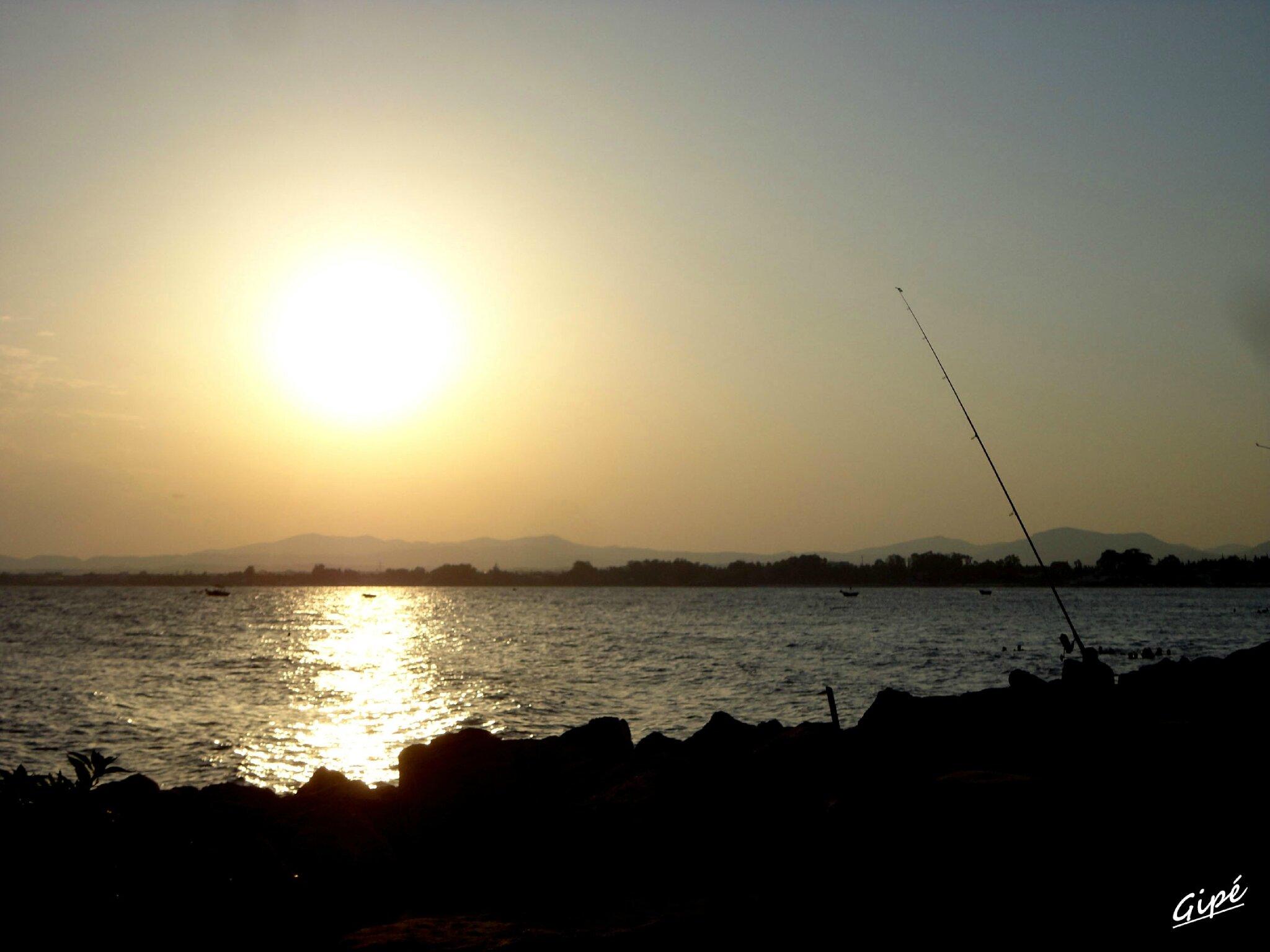 Coucher de soleil du vendredi 19 juillet 2013