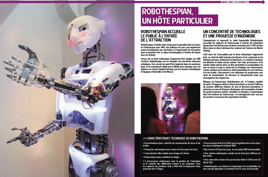 dossier de presse futuroscope danse avec les robots by martin solveig blog futuroscope. Black Bedroom Furniture Sets. Home Design Ideas