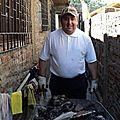 el padre Claudio también trabaja con los seminaristas.
