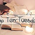 Top ten tuesday # 68