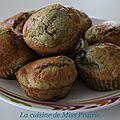 Muffins banane et m&m's