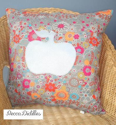 coussin Pomme1