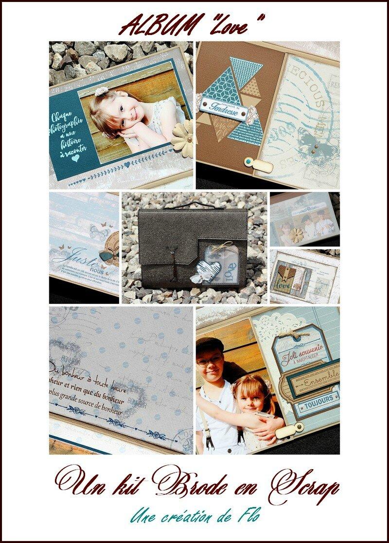 Kit album valise de Flo
