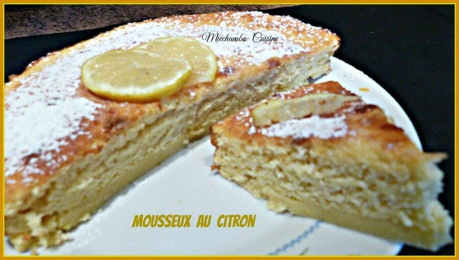 Mousseux au citron