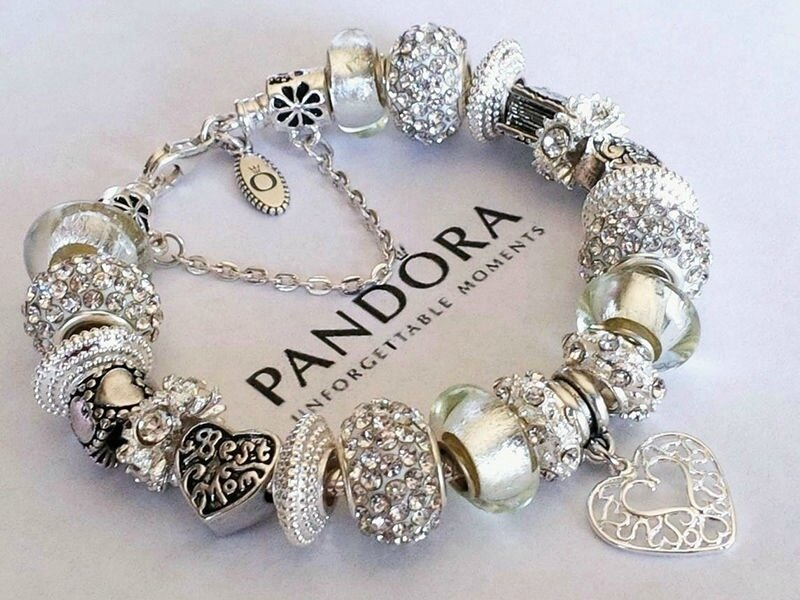 bijoux pandora bracelet complet charms