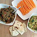 Soirée apéro : guacamole et rougail d'aubergines maison