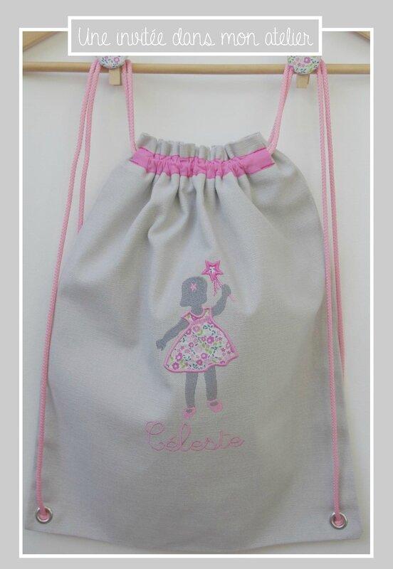 sac à dos-enfant-personnalisé-Liberty fairford rose