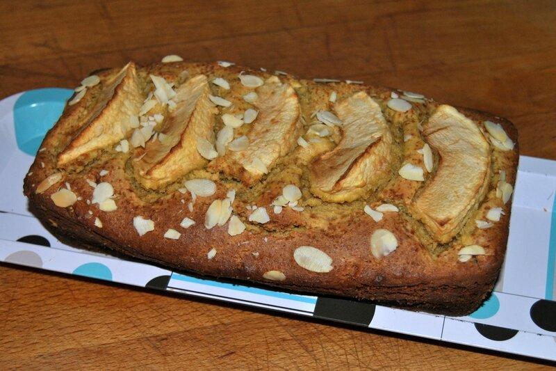 Cake à la farine de pois chiches