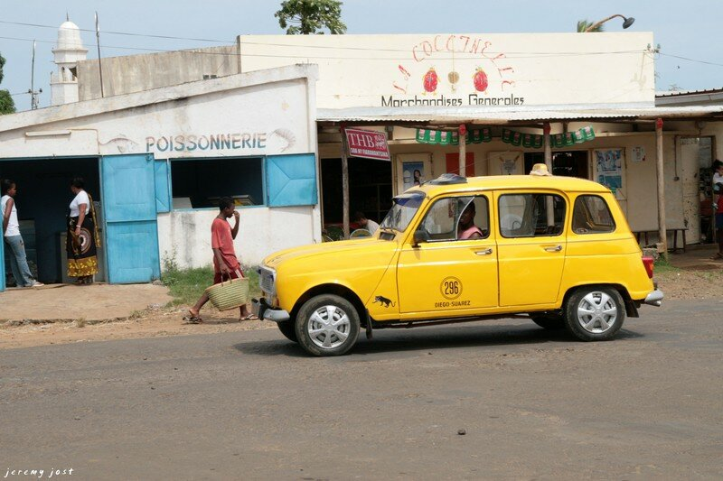 Taxi à Diego