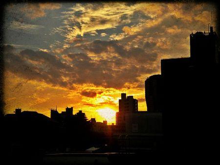 sunset azabu oct 2011