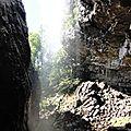 sous la cascade du Déroc